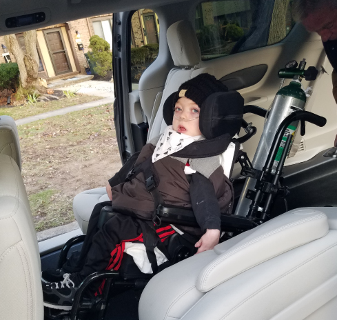 6-Year-Old Boy Sees 'New World' in Handicap-Adapted Minivan